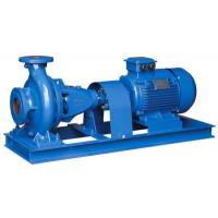 China Low Speed Horizontal End Suction Pump , End Suction Water Pump Fit Low Noise Requirement wholesale