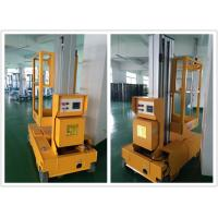 China Aerial Vertical Single Mast Lift Self Propelled For Quick Maintenance wholesale