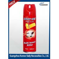 China Restroom Tinplate 600ml Aerosol Insect Killer Spray with Raw Material wholesale