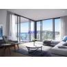 China Housing Project Double Glazed Sliding Windows 2.0mm Aluminum Profile Hurricane Proof wholesale
