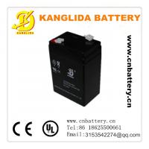 China 6v 5ah Maintenance free lead acid battery in Hennan, China on sale