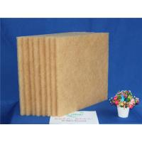 Quality Brown High Temperature Filter Media , Synthetic Air Filter Media 20M Length for sale