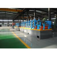 China Carbon Steel Erw Tube Mill Line With Worm Gearing Adjustable wholesale