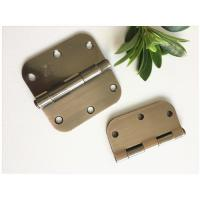 China Oil Resistance High Security Door Hinges High Durability Bright Brass Plated wholesale