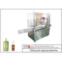 China High Accuracy Monoblock Liquid Filling Machine For Mosquito Repellent Spray wholesale