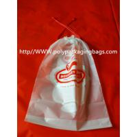 China Moisture Resistant Drawstring Plastic Bags / Drawstring Storage Bags wholesale