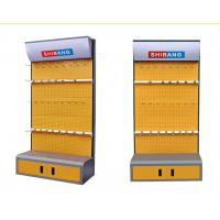 China Disassemble Supermarket Display Shelving Metal Tool Rack With Convenient Cabinet wholesale