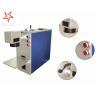 China Dot Pin 20W Fiber Laser Marking Machine Easy Operation Laser Marking Equipment wholesale