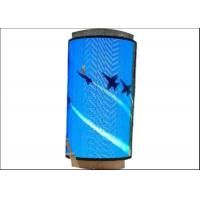 China Professional Flexible LED Stage Screens , Flexible LED Video Curtain High Transparent Rate wholesale