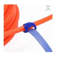 China Colorful Self Locking Nylon Cable Ties / Super Sticky Cable Ties For Bundling Wires wholesale