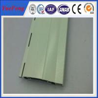 China New model durable anodized aluminum roller shutter door profile for warehouse wholesale