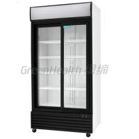China LED / T5 Light Commercial Upright Freezer Glass Door With Tecumseh Compressor wholesale