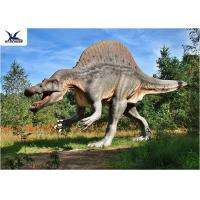 China Park Decorative Artificial Dinosaur Garden Ornaments Life Size Dinosaur Decoration Models wholesale