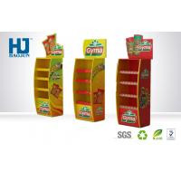 China Hot Sale Customized 4 Floors Corrugated Cardboard Pallet Display Stand for Food wholesale