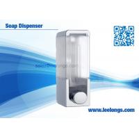 Quality 300ml Single Tank Manual Liquid Soap Dispenser Square For Hotel for sale
