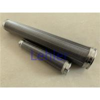 Quality HYDAC Wedge Wire Filter Elements Reverse Formed For HYDAC Filter for sale