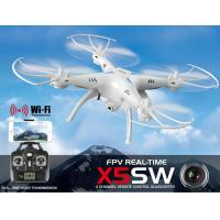 Quality X5SW WIFI FPV Real-Time RC Drone 2.4G 4CH Headless RC Quadcopter Camcorder W/ HD for sale