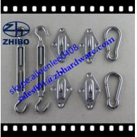China stainless steel 304 or 316 sun sail shade hardware kit with 6mm and 8mm wholesale