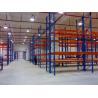 China Blue Color Industrial Metal Storage Racks / Steel Warehouse Shelving wholesale