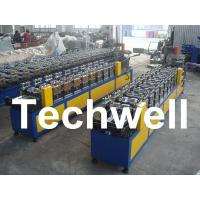 China 0.4 - 1.0mm Thickness 0 - 15m/min Speed C Stud Roll Forming Machine For Light Steel Keel wholesale