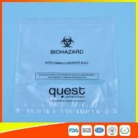 China Leak Proof Soft Specimen Transport Bags For Transporting Lab Specimens wholesale