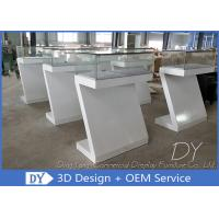 China Durable Nice Modern Jewelry Display Cases / Jewellery Counter Display wholesale