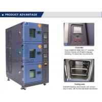 China Vehicle Temperature Humidity Test Chamber , 3 Layer Air Cooling Climatic Stability Testing Equipment wholesale