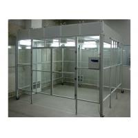 China Aluminum Positive Pressure Soft Wall Clean Room Vertical Laminar Flow Booth wholesale