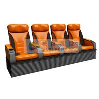 China Simulative 4D Theater Seats with hydraulic / pneumatic / Electrical control system wholesale