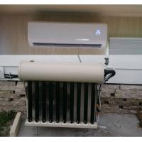 Buy cheap Hybrid solar air conditioner best price UL CSA CE T3 compressor OEM brand easy from wholesalers