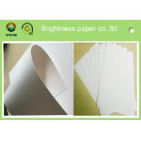 China White Wood Pulp Jewellery Box Cardboard , One Side Coated Gift Box Paper wholesale