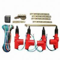 China Red Car Central Locking System with 7kg Endurance for 4 Doors wholesale