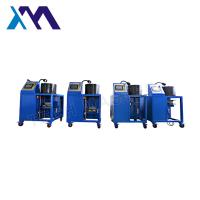 China High Acurracy Hydraulic Hose Crimping Machine To Repair Air Suspension Air Spring With Screen Fitting wholesale