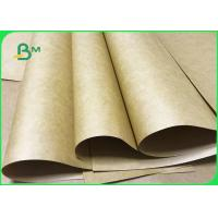 China 80gsm 100gsm 125gsm High Breaking Resistance Kraft Paper Sheet For Bags Packing wholesale