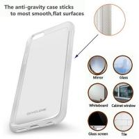 China Anti-Gravity Phone Case for iPhone 7, 7Plus, Magical Nano Sticky Can Stick to Glass, Tile, Smooth Surface, Hands Free on sale