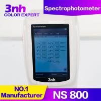 China Chroma Meter Portable Color Measurement Equipment NS800 Optical Geometry 45/0 Color Tester wholesale