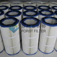 China FORST Industrial Polyester Fiber Paper Air Filter Media Dust Filter Cartridge on sale