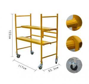 Buy cheap 500-Lb Capacity Multipurpose Metaltech Folding Steel Mini Scaffold from wholesalers