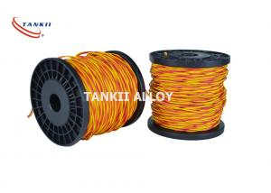 China SGS 22SWG Glass Fiber Thermocouple Extension Cable K Type wholesale