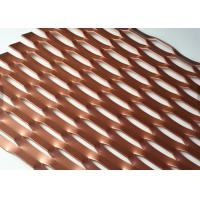 China Paint Treatment 3D Expanded metal Mesh For Decorative Metallic Screen1220x2440mm on sale