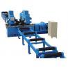 China Mechnical H Beam Straightening Machine , 40mm Thickness H Beam Assembly Machine wholesale