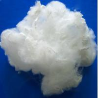 Raw White PSF Polyester Staple Fiber For Spinning And Non - Woven Fabric