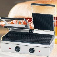 China CE Appoval Electric Table Counter Top Hamburger Griddle on sale