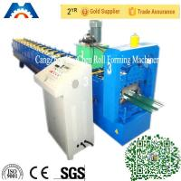 China 330mm Automatic Color Coated Wall Roof Panel Roll Forming Machine With 15 Rows wholesale