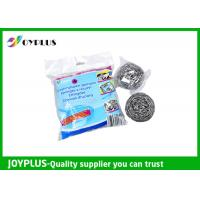 China High Density Kitchen Cleaning Pad Metal Scrub Pad 4 Pack Easy Operation wholesale