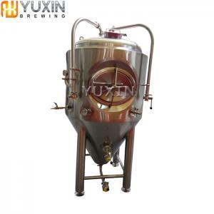 China 3000L 4000L 5000L Cooling Jacket Conical beer fermentation tanks on sale