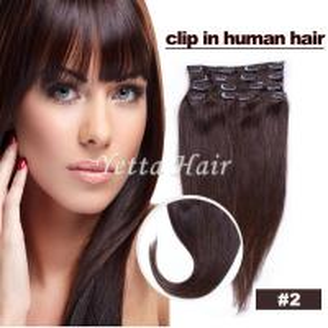 China Smooth Soft Pre Bonded Dip Dye Hair Extensions / Dark Brown Virgin Hair wholesale