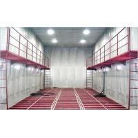 China Manual Sand Blasting Room / Booth Heavy Duty With Screw Recycling System wholesale