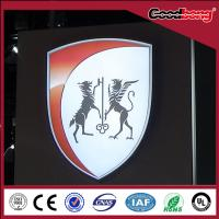 China Custom Vacuum Forming Acrylic logo Advertising Auto 4s Car Shops wholesale