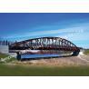 China Single Span Surface Painted Truss Style Bridge / Truss Suspension Bridge Anti Corrosion wholesale